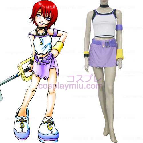 Kingdom Hearts 1 Kairi Women's Cosplay Costume