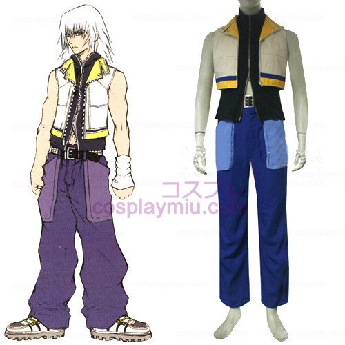 Kingdom Hearts 2 Riku Men's Cosplay Costume