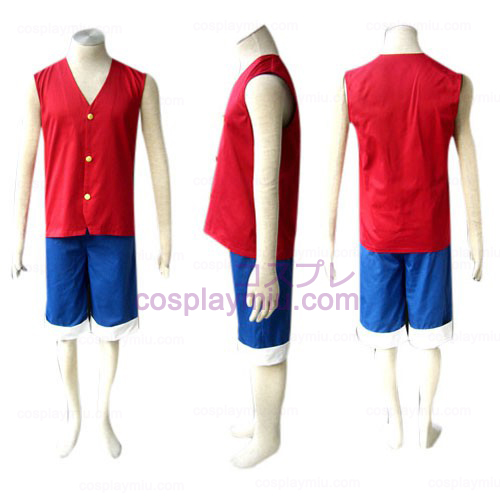 One Piece Luffy Cosplay Costume