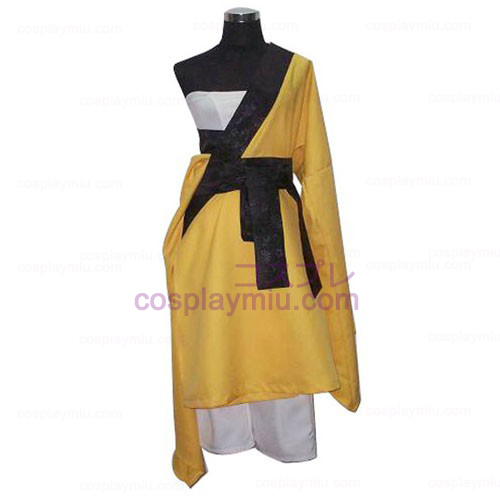 Vocaloid Song Gekokujou Yellow Cospaly Costume