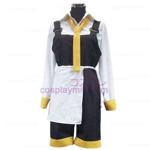 Da Capo Yellow And White Cosplay Costume