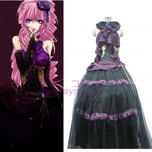 Vocaloid Women black Cosplay Costume