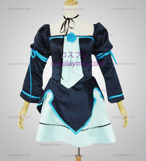 Vocaloid Miku Doujin Light Blue Cosplay Costume