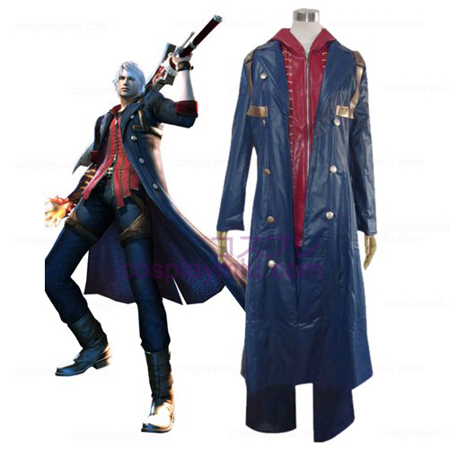 Devil May Cry 4 Nero Cosplay Costume