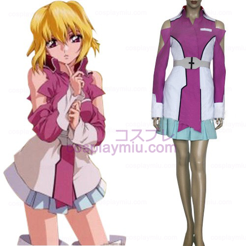 Gundam Seed Destiny Stellar Louisser Military Uniform Cosplay costume