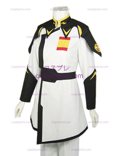 Yzak Gundam SEED ZAFT uniform white