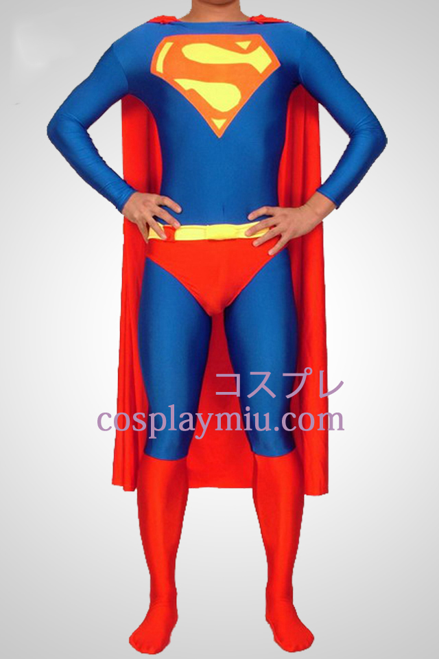 Superman Lycra Spandex Superhero Catsuits