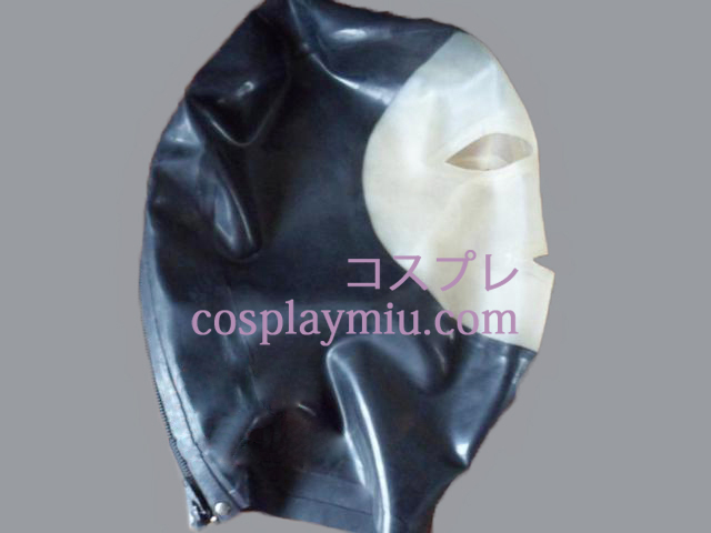 Multicolor Latex Mask with Open Eyes and Nose