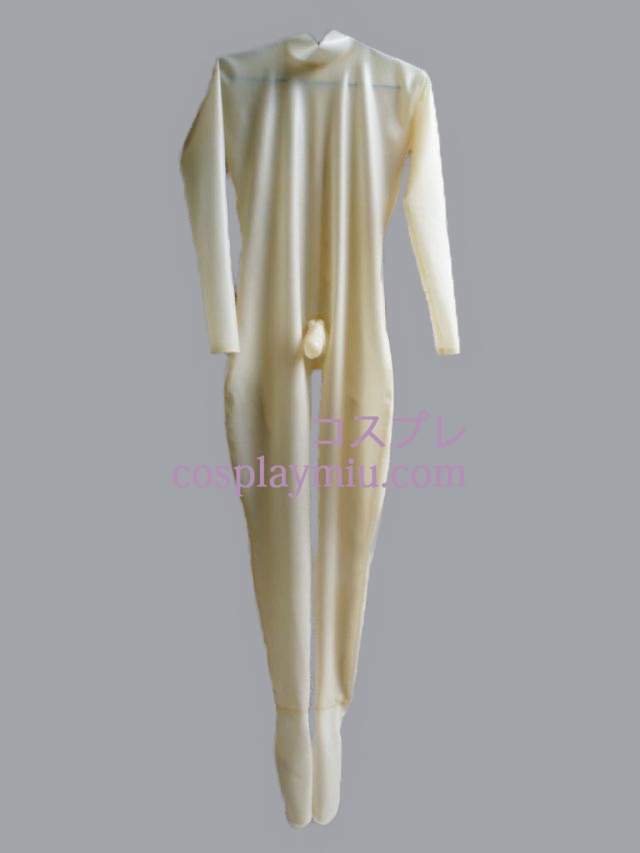 Transparent Male Latex Catsuit